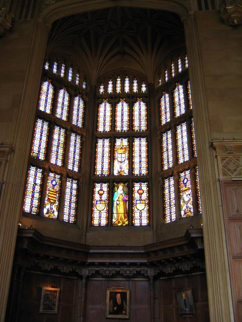Dining Hall Windows