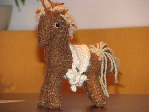 Photo of a toy horse from Martin's youth