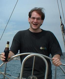Martin is sailing