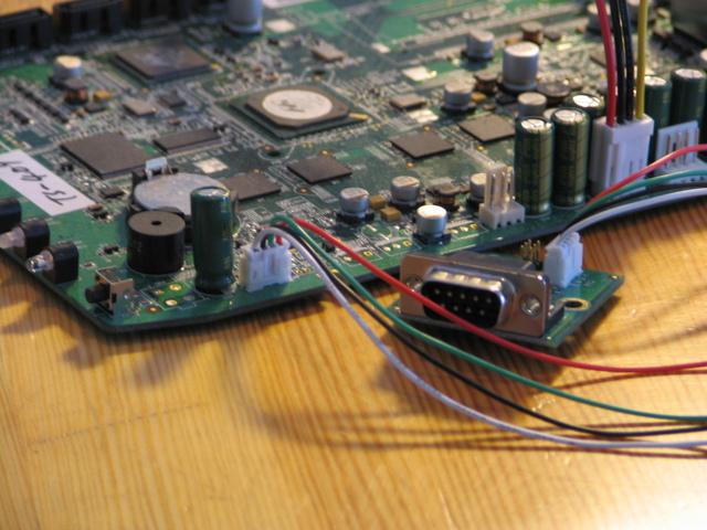 Serial console for QNAP TS-409 | Martin Michlmayr